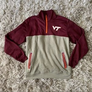 Virginia Tech Hokies quarter zip pullover
